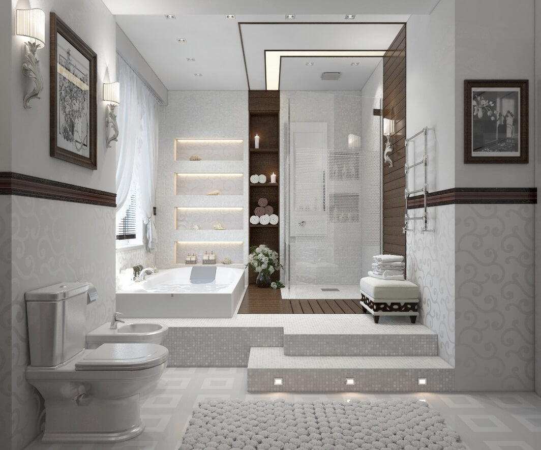 Modern Bathroom Shower Ideas That Inspire You for Renovation