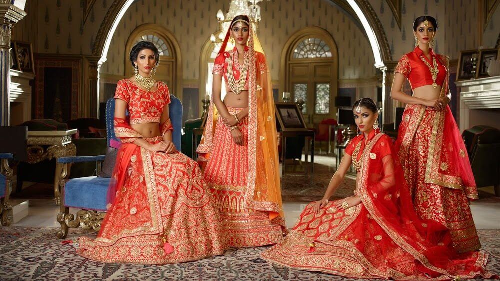 Beautiful Wedding Lehenga Choli Designs for Brides