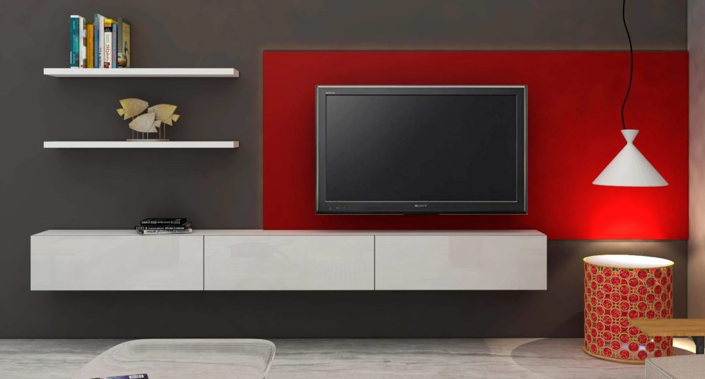 Most Innovative TV Cupboard Designs For Living Room