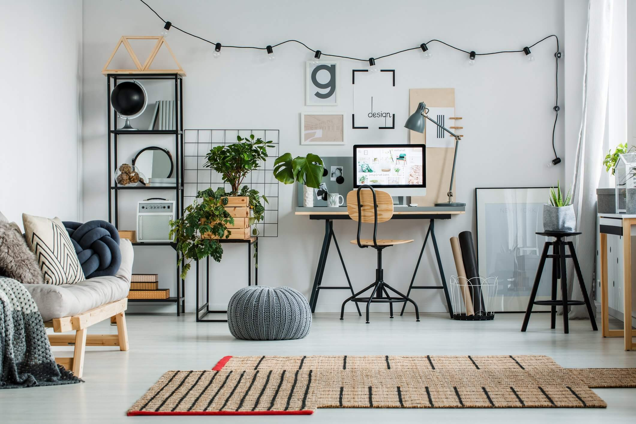 30 Home Office Ideas that Inspire You for work All Day