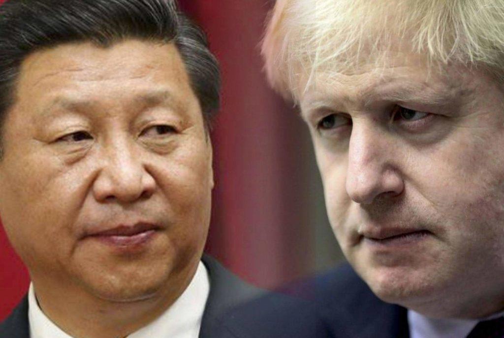 China Alerts Britain Conflicting In Hong Kong Will 'Backfire'