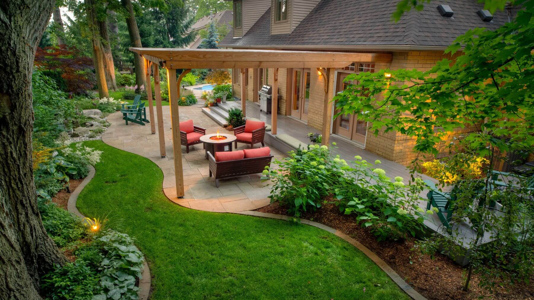 Beautiful Courtyard Design Ideas That Beautify Your Yard