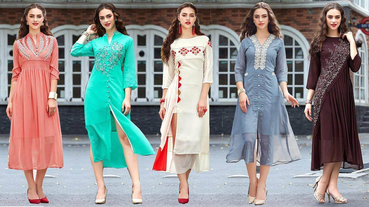 Most Trending and Stylish Kurtis for Women
