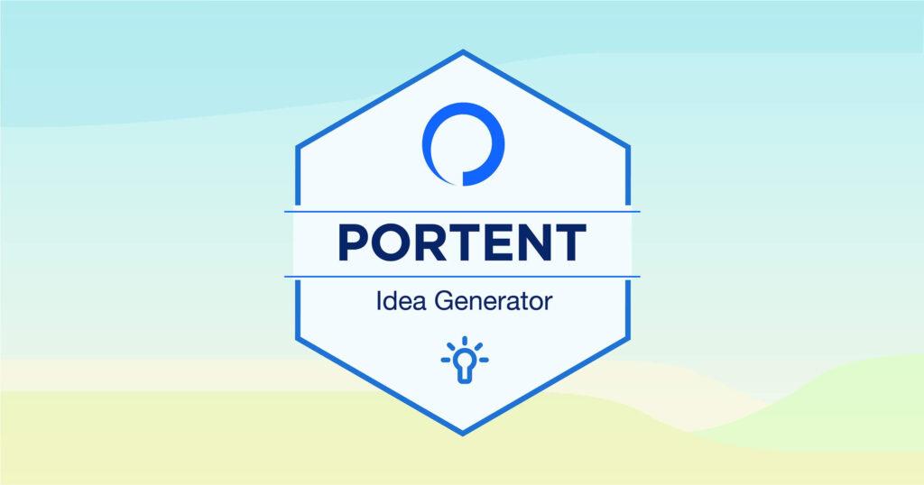 Portent Idea Generator