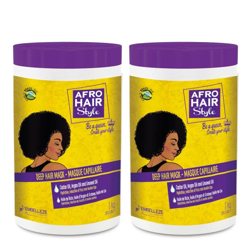 Afro Hair Masque