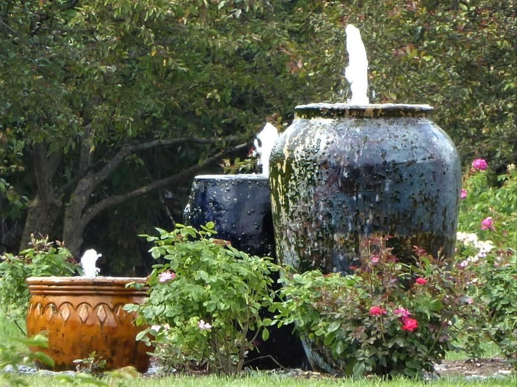 Ceramic Vase Fountains