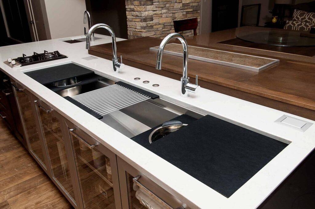 Corner Kitchen Sink 10