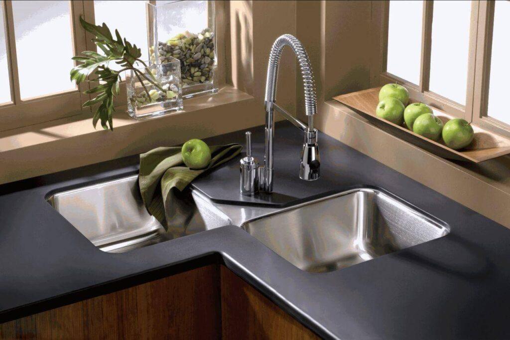 Corner Kitchen Sink 2
