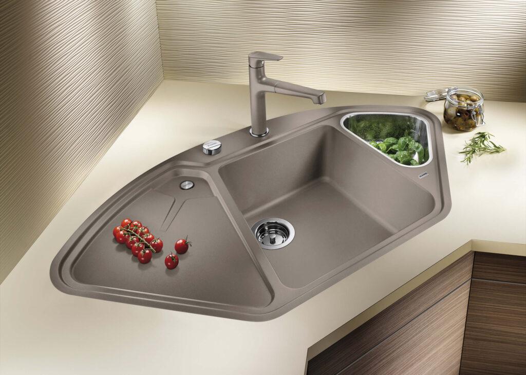 Corner Kitchen Sink 3