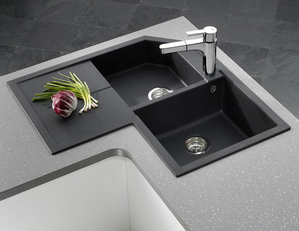 Corner Kitchen Sink 4