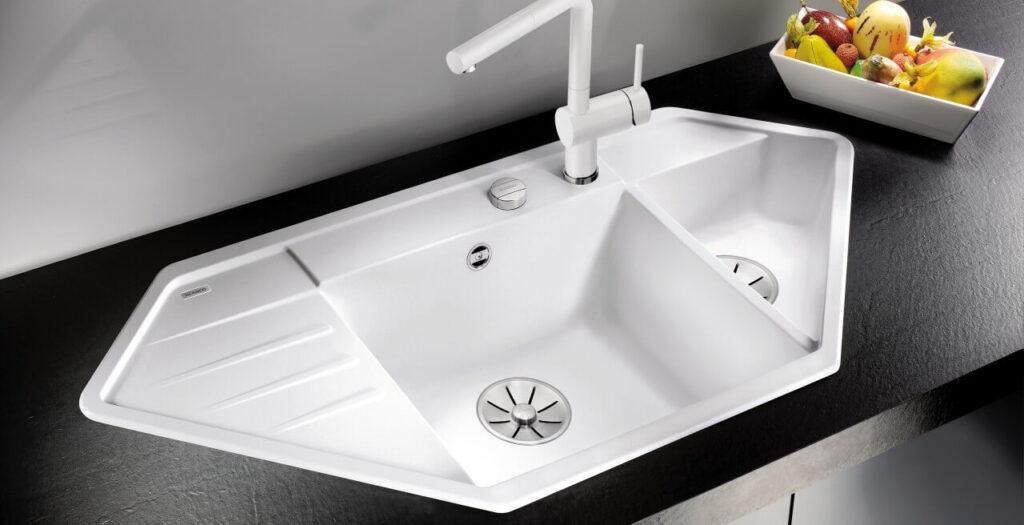 Corner Kitchen Sink 7