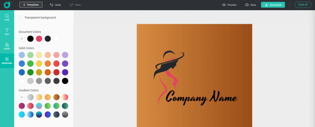 Custom logo at your will