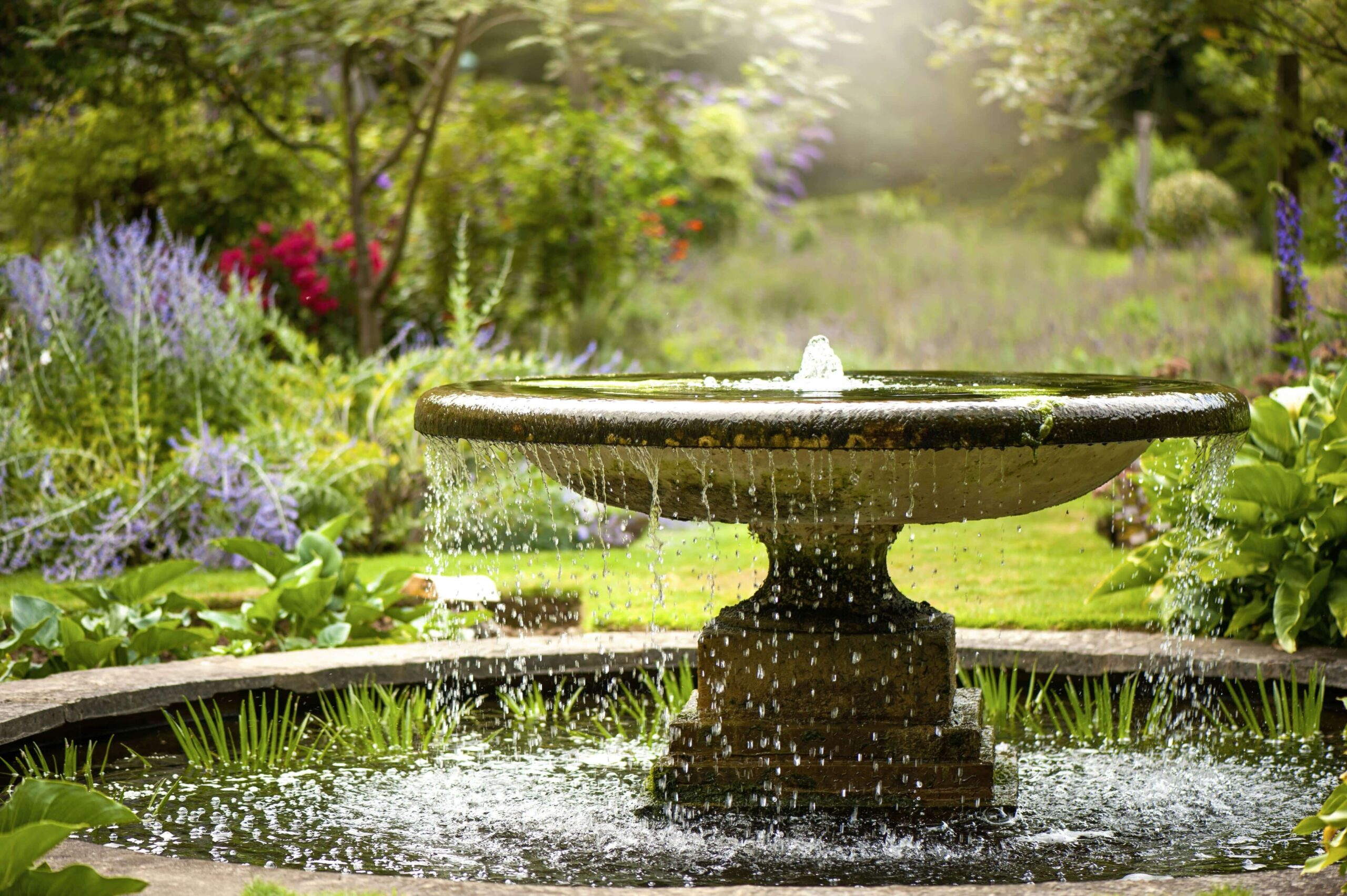 How Water Features Can Enhance Your Garden-min