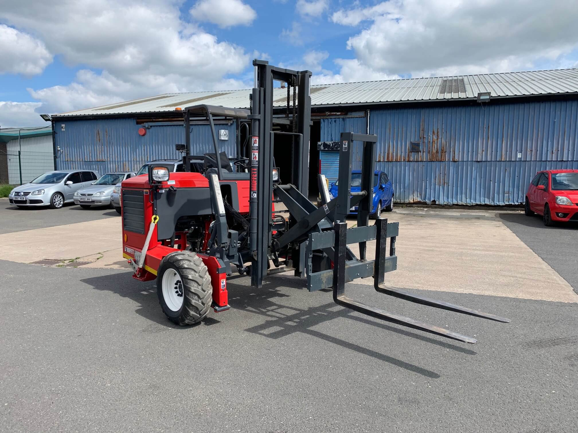 Moffett Forklift For Construction