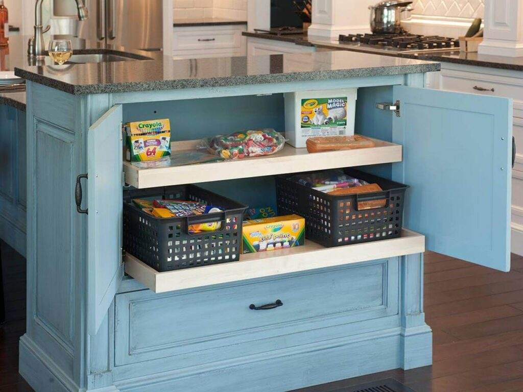 Empty & Organize Your Cabinets