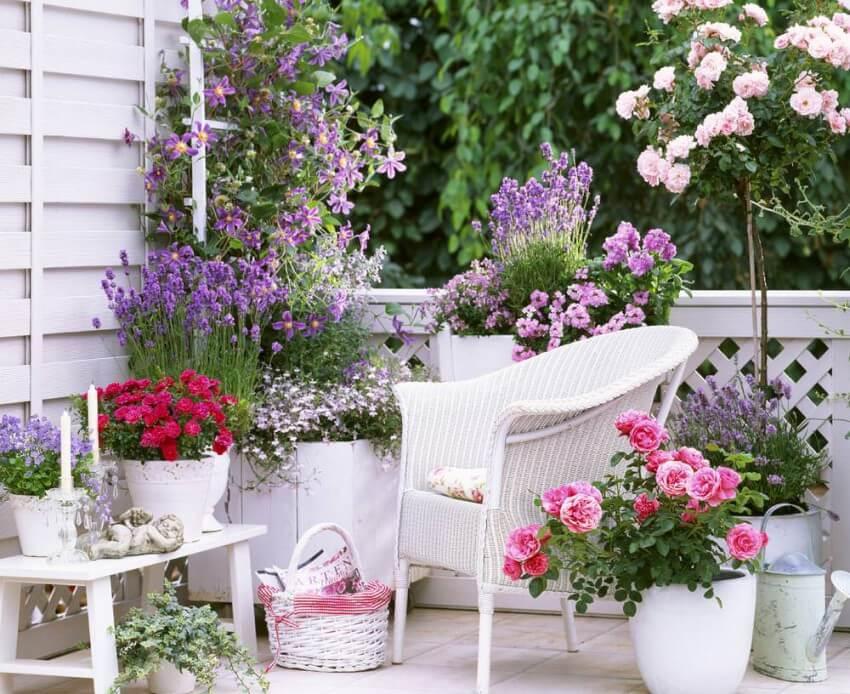 Use Balcony space