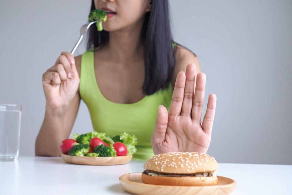 Say No to fatty foods