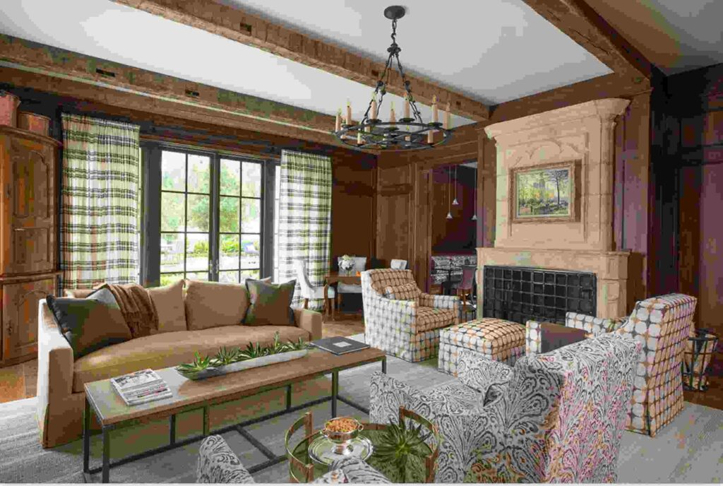 Elegant rustic style with a natural twist