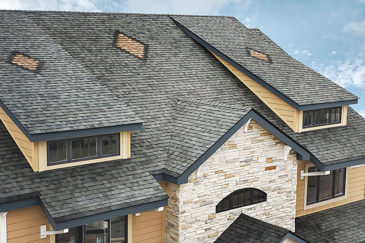 Shingle Roofing Patterns